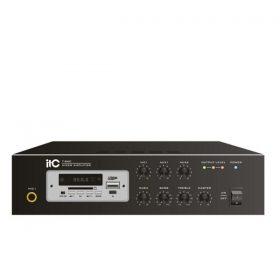 ITC T-B60Mini digital amplifier with MP3 and Bluetooth ITC T-B60 มิกเซอร์แอมป์ 60 วัตต์ MONO 1 MIC , 2 AUXITC T-B60 Amplifier