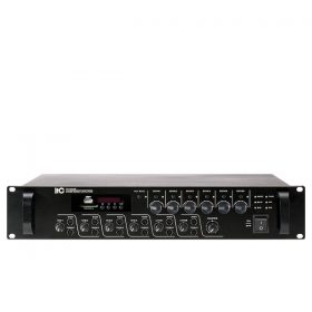 ITC TI-2406S 6 Zones Mixer Amplifier with MP3 ITC TI-2406S มิกเซอร์แอมป์ 240 วัตต์ MONO 4 MIC ITC TI-2406S Mixer Amplifier