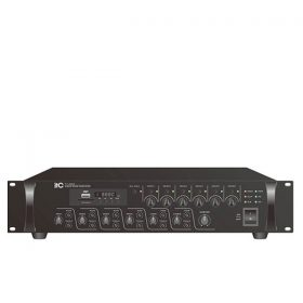 ITC TI-5006S6 Zones Mixer Amplifier with Mp3 ITCTI-5006S6 มิกเซอร์แอมป์ 500 วัตต์ MONO 3 MIC ITC T-500Mixer Amplifier ของแท้