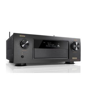 AV SURROUND RECEIVER WITH HEOS MUSIC STREAMING TECHNOLOGY DENON AVR-X4400H AV SURROUND RECEIVER 9.2 ชาแนล 9x200 วัตต์ มี HEOS สตรีมมิ่งเพลงDENON AVR-X4400H