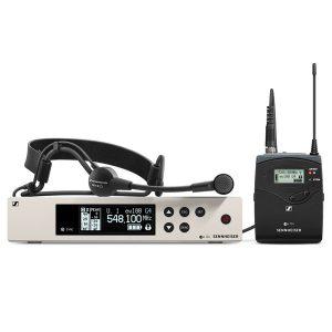 SENNHEISEREW 100 G4-ME3ชุดไมค์ลอยคาดศรีษะ ย่าน UHF SENNHEISEREW 100 G4-ME3ไมโครโฟนคาดศรีษะ ไร้สาย รับประกันของแท้แน่นอน