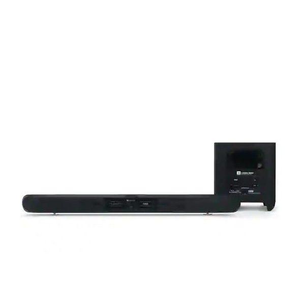 JBL SB450 4K Ultra-HD soundbar with wireless subwoofer JBL SB450 ลำโพงซาวด์บาร์ 4K Ultra-HD พร้อมลำโพงซับวูฟเฟอร์ไร้สาย 440 วัตต์JBL SB450soundbar