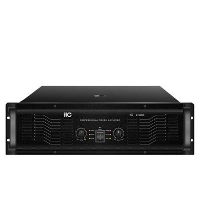 ITC TA-21200 Professional Power Amplifier ITC TA-21200 เพาเวอร์แอมป์ 2*1200 วัตต์ Stereo 8 โอมห์ Stereo ITCTA-21200 Power Amplifier