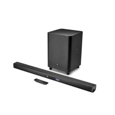 JBL Bar 3.1 ลำโพงซาวด์บาร์ 4K Ultra-HD พร้อมลำโพงซับวูฟเฟอร์ไร้สาย 450 วัตต์ JBL Bar 3.1soundbar 3.1-Channel 4K Ultra HD Soundbar with Wireless Subwoofer