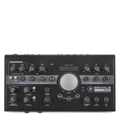 MACKIE Big Knob Studio+ MONITOR CONTROLLER MACKIE Big Knob Studio+ เครื่องควบคุมลำโพงมอนิเตอร์ MACKIE Big Knob Studio+ MONITOR CONTROLLER