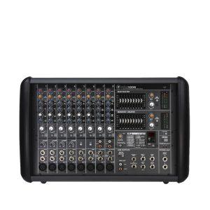 MACKIE PPM1008 เครื่องผสมสัญญาณเสียง มีแอมป์ในตัว 8 ชาแนล 8 ไมค์ คลาส D 1600 วัตต์ ที่ 4 โอมห์MACKIE PPM1008เครื่องผสมสัญญาณเสียง