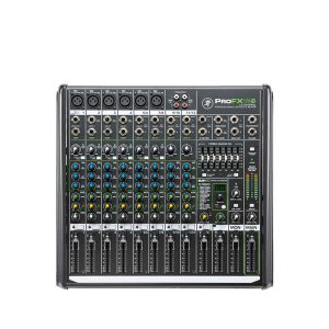 MACKIE ProFX12V212-CHANNEL PROFESSIONAL EFFECTS MIXER WITH USB MACKIE ProFX12V2 เครื่องผสมสัญญาณเสียง อนาล็อก 12 ชาแนล MACKIE ProFX12V2 มิกเซอร์อนาล็อก