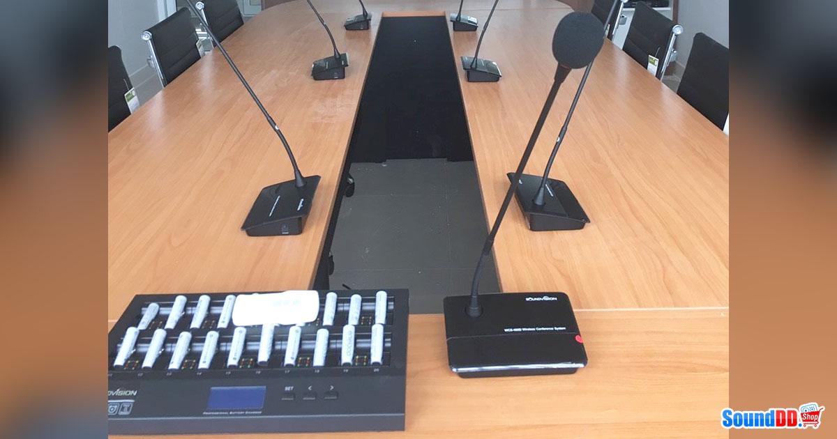 ผลงานการติดตั้ง ระบบเสียงห้องประชุม บ.เอ็นเจเอ็นเนีย รับบริการออกแบบ และติดตั้ง ระบบเสียง และระบบภาพ เช่น ระบบเสียงห้องประชุม