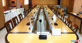 ผลงานการติดตั้ง ระบบเสียงห้องประชุมสหกรณ์ออมทรัพย์ครูระยอง จำกัด รับบริการออกแบบ และติดตั้ง ระบบเสียง และระบบภาพ เช่น ระบบเสียงห้องประชุม