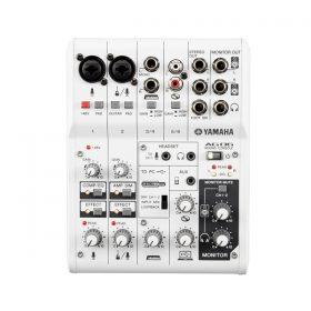YAMAHA AG06 Multipurpose 6-channel mixer with USB audio interface YAMAHA AG06 มิกเซอร์ อนาล็อก 6 ชาแนล YAMAHA AG06 เครื่องผสมสัญญาณเสียง อนาล็อก