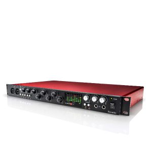 FOCUSRITE SCARLETT 18I20 (2ND GEN) เชื่อมต่อกับคอมพิวเตอร์เพื่อทำงานเกี่ยวกับเสียงFOCUSRITE SCARLETT 18I20 (2ND GEN) สัญญาณแบบอนาล็อก