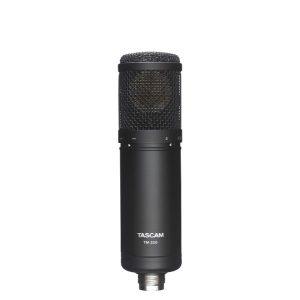 TASCAM TM-280 ไมค์สำหรับจ่อเครื่องดนตรี เช่น กลอง กีตาร์ ใช้บันทึกเสียงได้ทั้งในสตูริโอ และนอกสถานที่ สามารถใช้บันทึกเสียงสิ่งแวดล้อม หรือเสียงธรรมชาติ