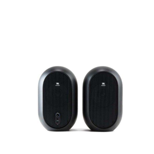 JBL 104 ตู้ลำโพงมอนิเตอร์สตูดิโอ 4.5 นิ้ว 60 วัตต์ มีแอมป์ในตัว คลาส D JBL Series 1 104 Compact Powered Desktop Monitors สอบถามได้ที่ ไลน์ไอดี @sounddd.shop