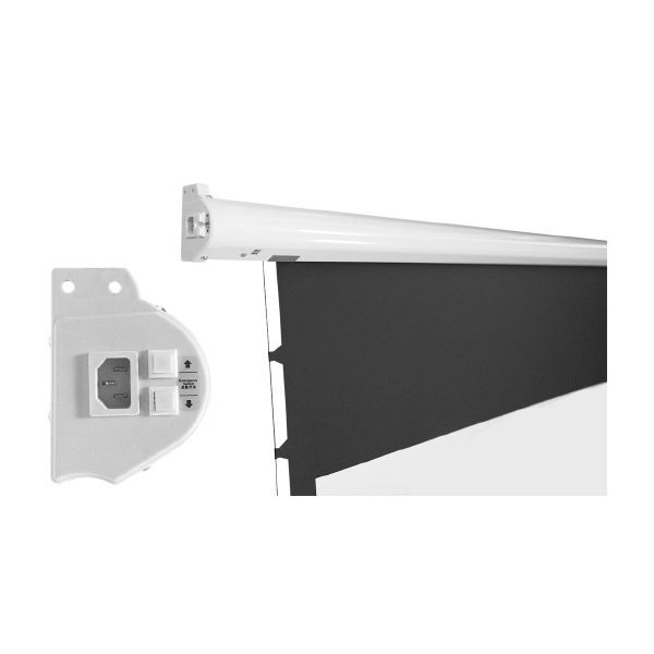JK S1 Motorized Screens (Projectior Screen) JK S1 จอรับภาพแขวนผนัง/เพดาน มอเตอร์ไฟฟ้า รับบริการออกแบบ พร้อมติดตั้ง ปรึกษาฟรี!! แอดไลน์ ไอดี : @sounddd.shop
