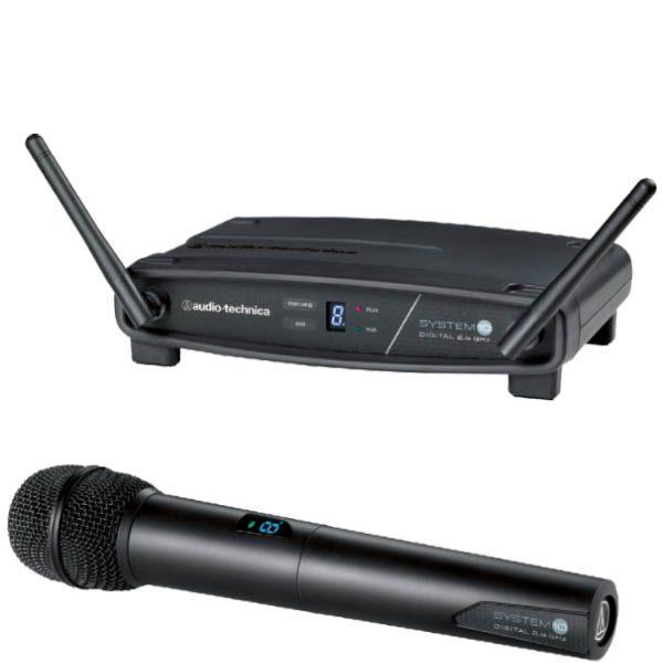 AUDIO-TECHNICA ATW-1102 System 10 Stack-mount Digital Wireless System ชุดไมค์ลอย แบบมือถือเดี่ยว ไมค์สำหรับร้อง/พูดสนใจสอบถามได้ที่ไลน์ไอดี @sounddd.shop