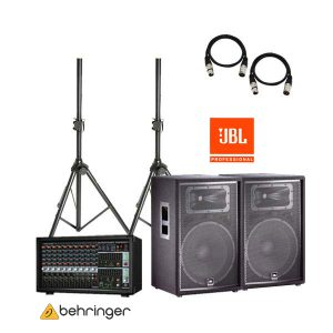 BEHRINGER PMP-2000D+JBL JRX215D ชุดเครื่องเสียงสัมมนา
