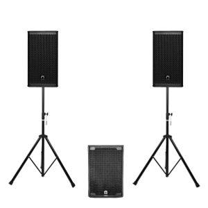 SOUNDVISION TLA-12S + VS10 ชุดเครื่องเสียง แบบเคลื่อนย้าย ตู้ซัพวูฟเฟอร์ ขนาด 12 นิ้ว 600 วัตต์ พร้อมตู้ลำโพง สนใจสอบถามได้ที่แอดไลน์ไอดี @sounddd.shop