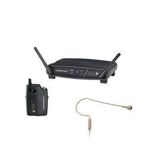 AUDIO-TECHNICA ATW-1101/H92-TH ชุดไมค์ลอยเกี่ยวคล้องหู ดิจิตอล 2.4 GHz range System 10 ไมโครโฟนแบบคอนเดนเซอร์ ให้เสียงที่ชัดใส