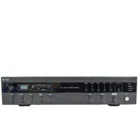 TOA A-3212DMZ-AS มิกเซอร์แอมป์ 120 วัตต์ 4 Mic 2 Aux พร้อมเครื่องเล่น MP3 เลือกได้ 5 โซน TOA A-3212DMZ-AS Multi Purpose Hi-Low PowerAmplifier