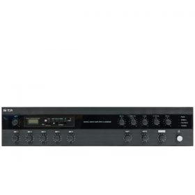 TOA A-3248DME-AS มิกเซอร์แอมป์ 480 วัตต์ 4 Mic 2 Aux พร้อมเครื่องเล่น MP3 TOA A-3248DME-AS รุ่น Music Player + EQ 5 ความถี่ มีบริการรับติดตั้ง