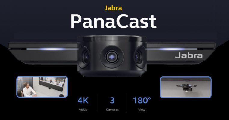 ยกระดับทุกการประชุมของคุณด้วย Jabra PanaCast กล้อง Intelligent 180° 4K สำหรับการประชุมทางไกล (เว็บ / วิดีโอคอนเฟอร์เร้นท์)