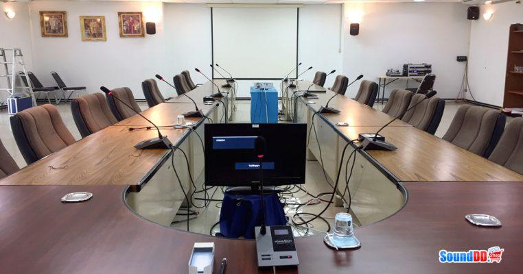 ผลงานการติดตั้ง ระบบเสียงห้องประชุม TOT สาขาสมุทรปราการสาคร