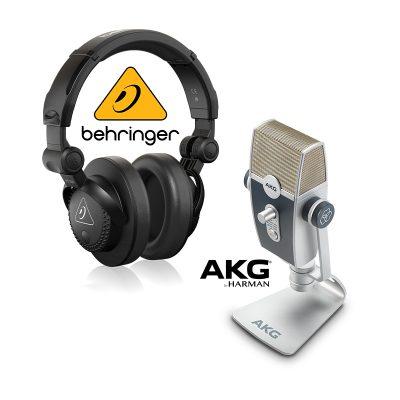 ชุดไมค์ USB บันทึกเสียง AKG Lyra