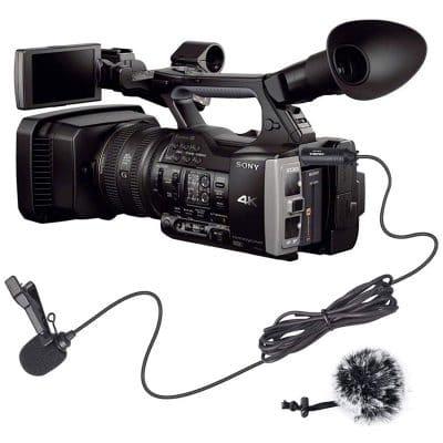 ไมโครโฟนติดกล้อง หนีบปกเสื้อ
