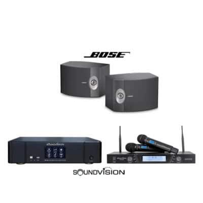 SOUNDVISION KARAOKE-2 ชุดคาราโอเกะ SOUNDVISION DKA-500 x BOSE 301