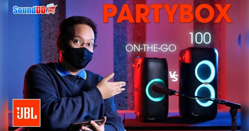 JBL Partybox on the go vs partybox100