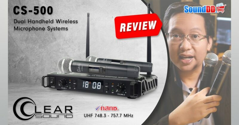 CLEARSOUND CS-500 Review Banner