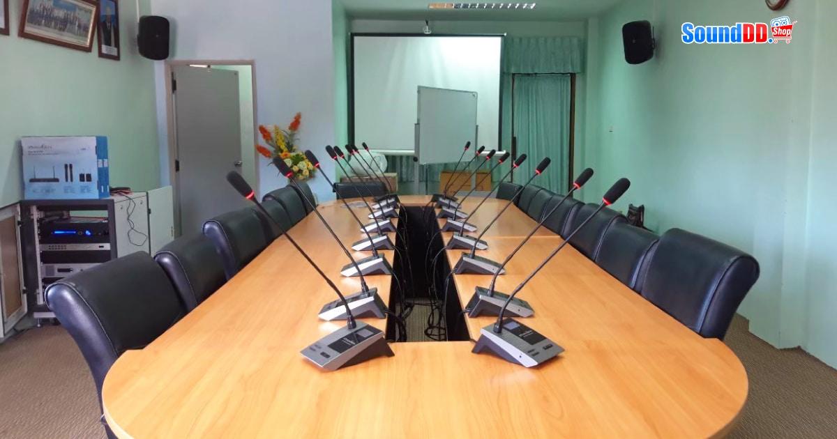 ผลงานติดตั้ง ระบบเสียงห้องประชุม วิทยาลัยชุมชน จังหวัดระนอง