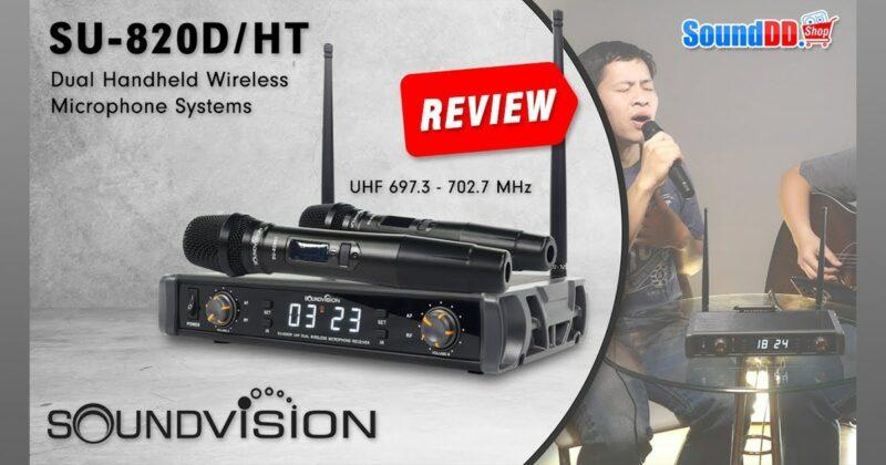 SOUNDVISION SU-820D-HT Review Banner