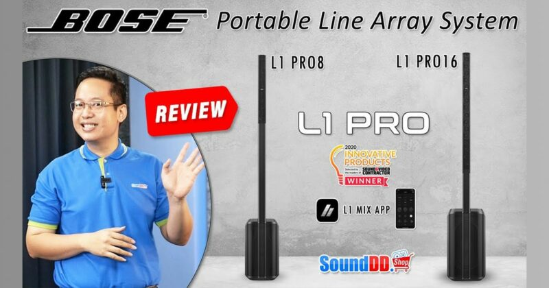 BOSE L1 PRO REVIEW Banner