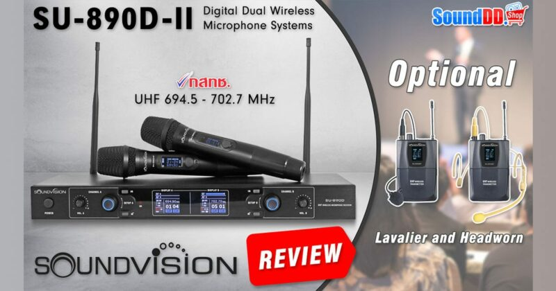 SOUNDVISION SU-890D-II Review Banner