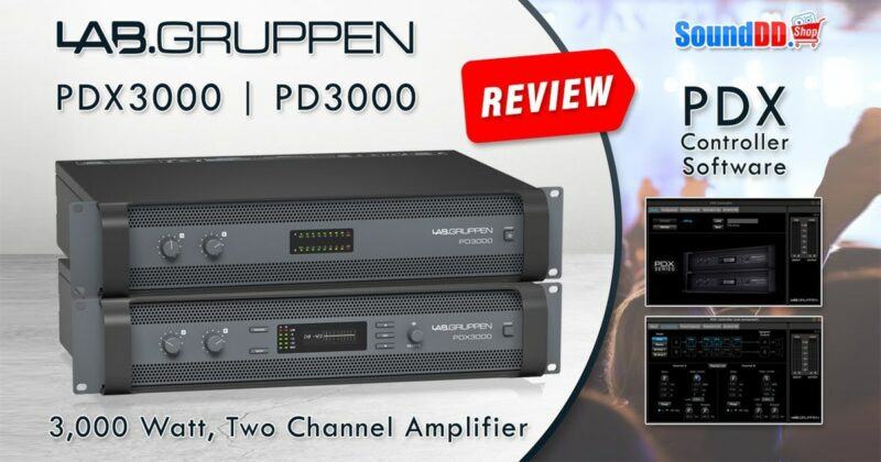LAB GRUPPEN PDX3000 & PD3000 Review Banner