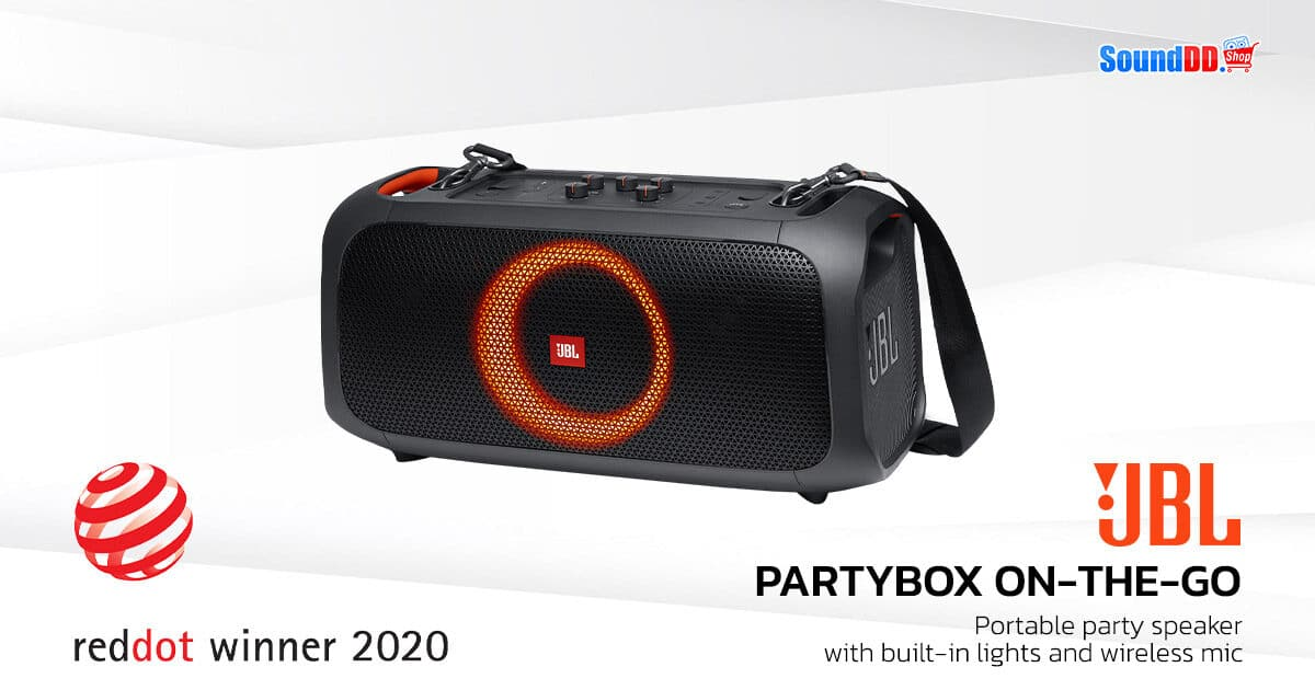 Reddot JBL PARTYBOX ON THE GO
