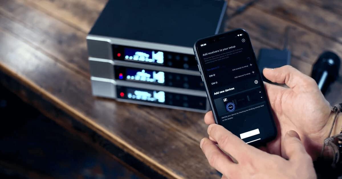 SENNHEISER Evolution Wireless Digital Preview 3