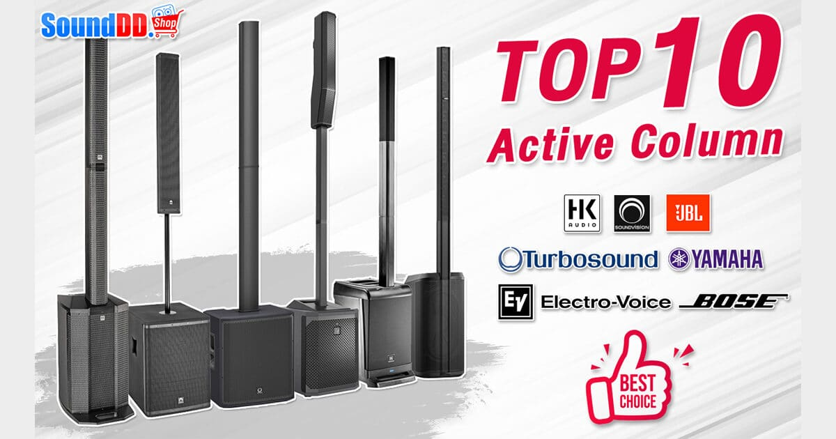 Top 10 Active Column Best Seller At SoundDD Banner
