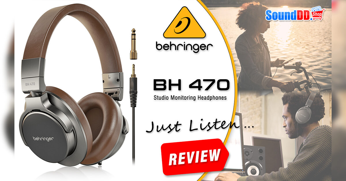 BEHRINGER BH 470 Review Banner