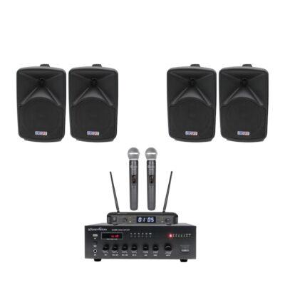 SOUNDVISION SA-60BT + BEST JB-57 + CLEARSOUND CS-500