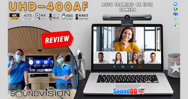 SOUNDVISION UHD-400AF Review Banner