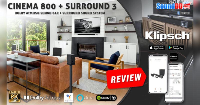 KLIPSCH-CINEMA-800-Review Banner